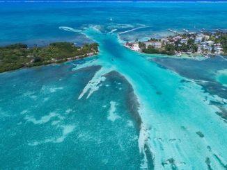 Мезоамериканский риф Белиз фото Dronepicr