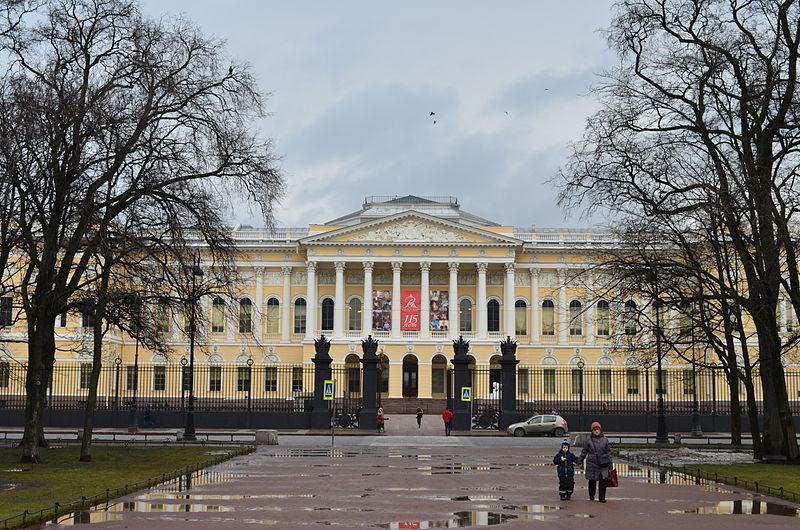 Русский музей, главный фасад, фото Евгений Рубашенков