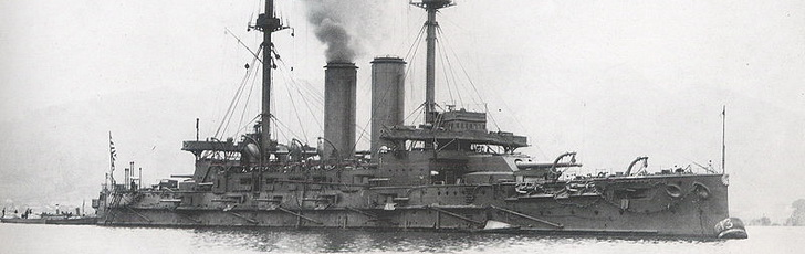 Микаса, 1902 год