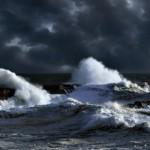 Шторм в Северном море