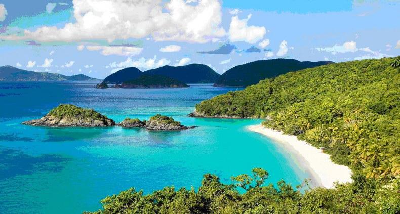 Пляж на Бинь Ба, фото www.hanhtrangphuot.net