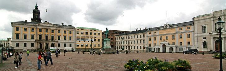 Площадь в Гётеборге - когда ехать?