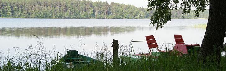 Озеро в Литве