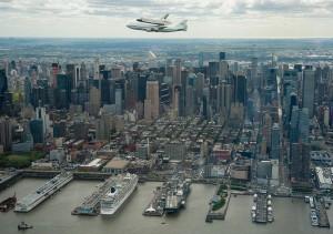86 пирс Нью-Йорка и авианосец Интрепид