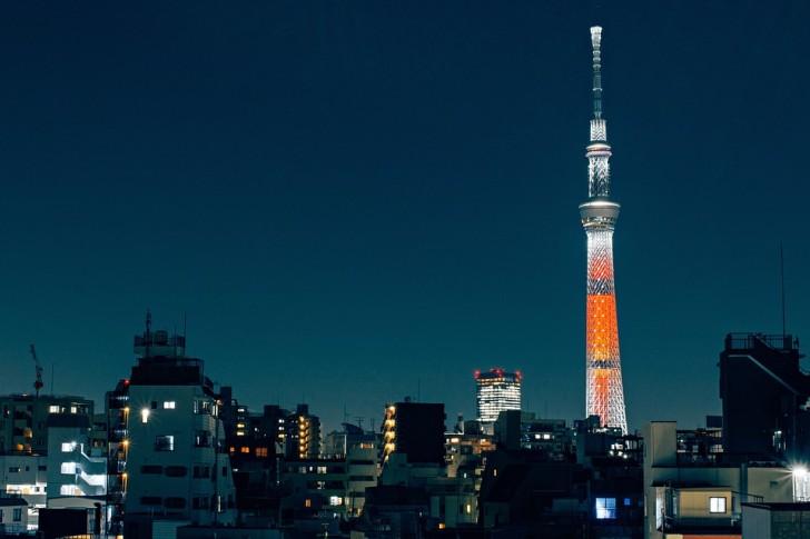 """Небесное дерево"", Токио"