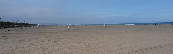 Пляж: погода в Валенсии всегда превосходна!