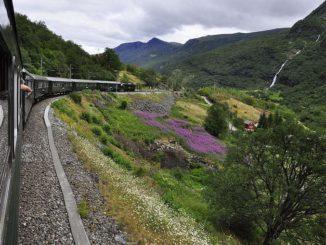Фломская железная дорога, Норвегия, фото Karen