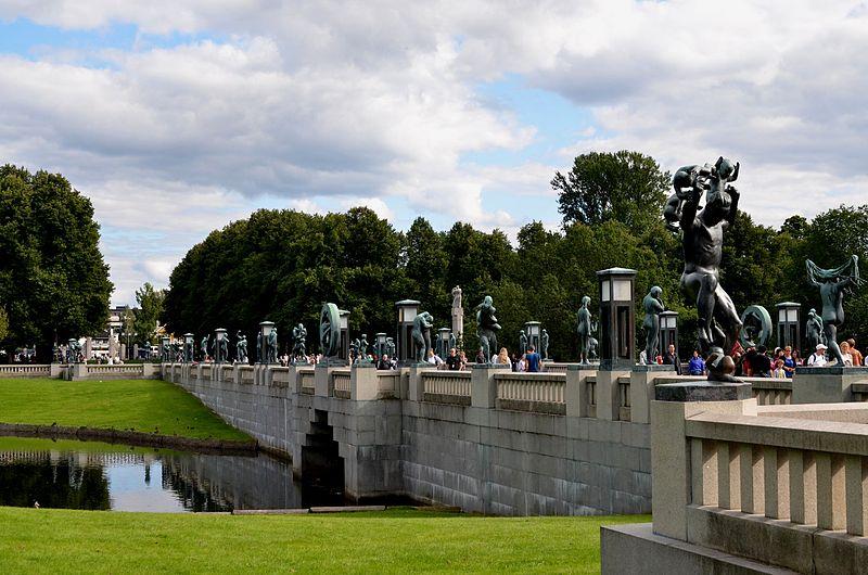 Фрогнер парк, фото Ignaz Wiradi