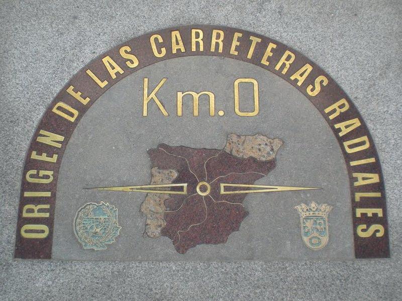 Километро зеро, Пуэрта-дель-Соль, фото Kaetzar