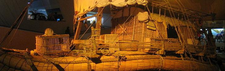 Лодка Ра, музей Кон-Тики