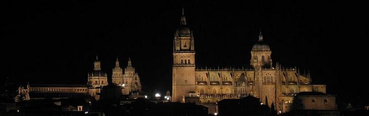 Саламанка ночью
