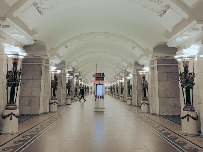 """Станция метро """"Пушкинская"""" в Санкт-Петербурге"""