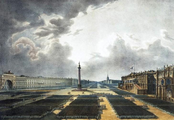Парад на Дворцовой площади, Санкт-Петербург