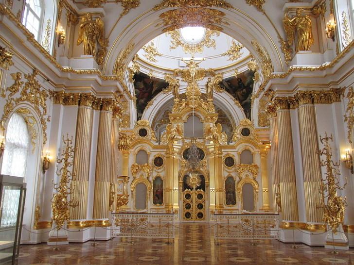 Большая церковь Зимнего дворца, фото Januarius-zick