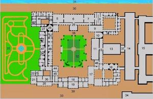 План Зимнего дворца