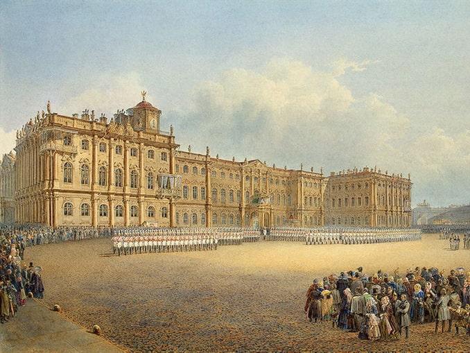 Зимний дворец, история, 1830-е годы