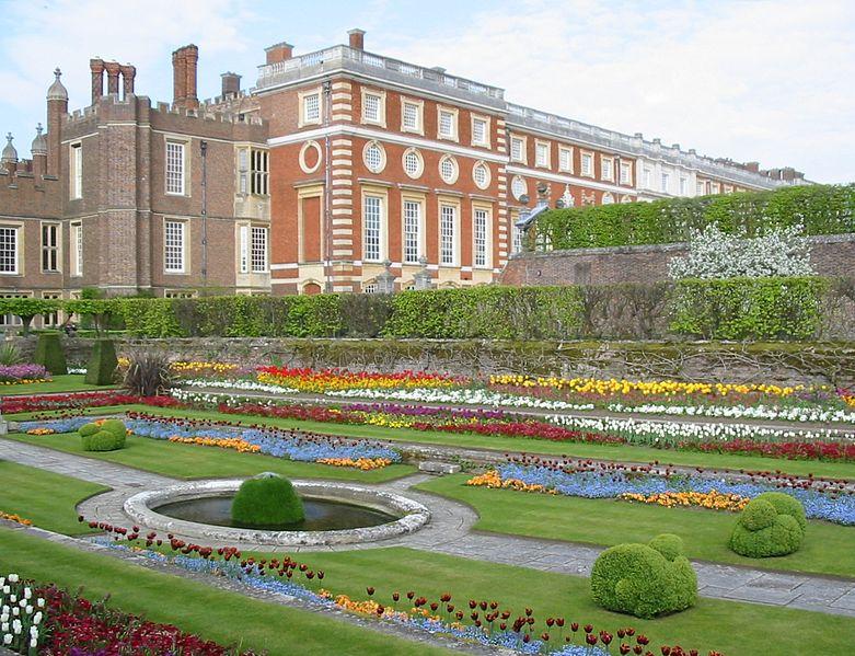 Хэмптон-корт, сады
