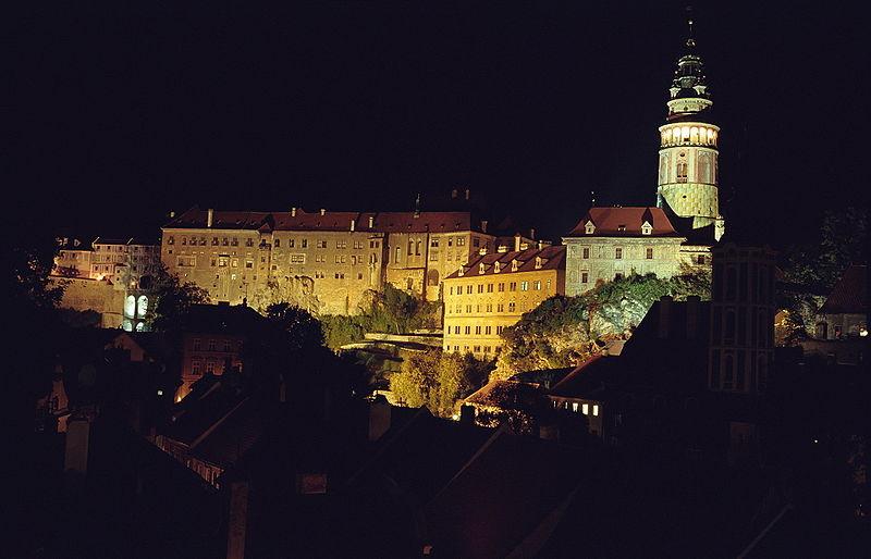 Замок Чески-Крумлов, фото Jerzy Strzelecki