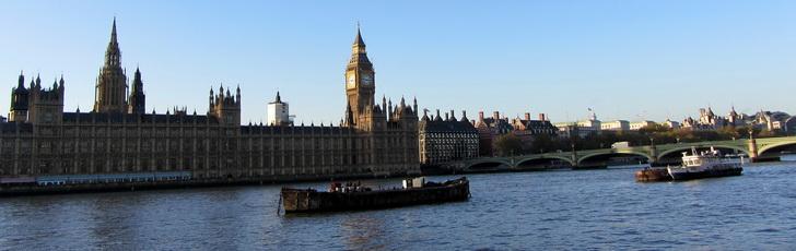 Лондон, Темза и парламент