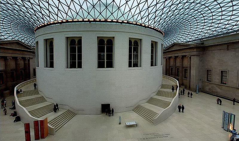 Внутренний двор в Британском музее