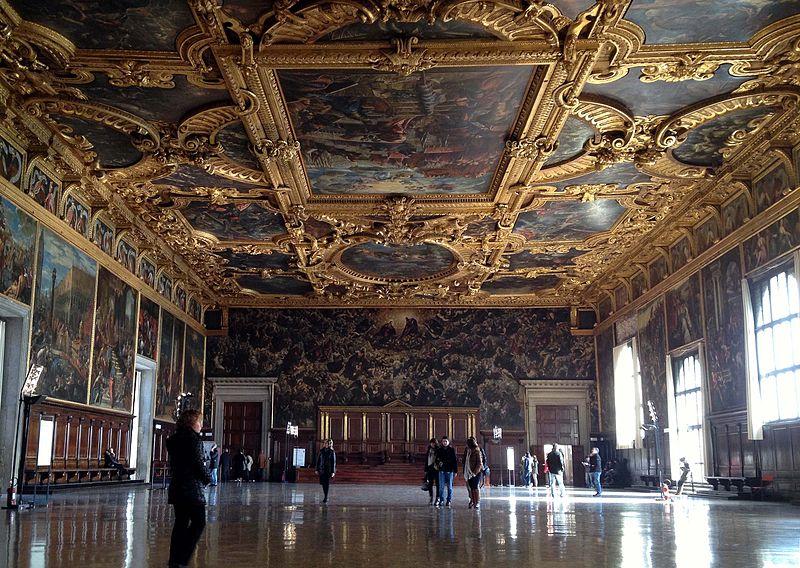 Зал Большого совета, фото Riccardo Lelli / Wikimedia Commons