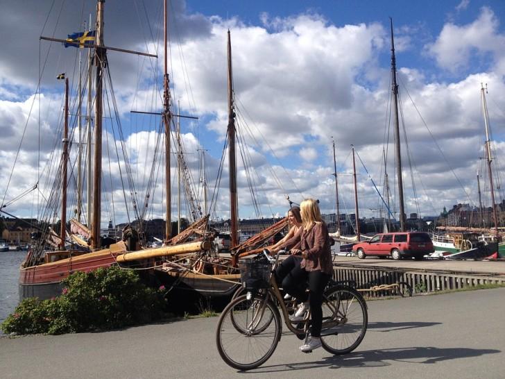 Стокгольм, велосипеды