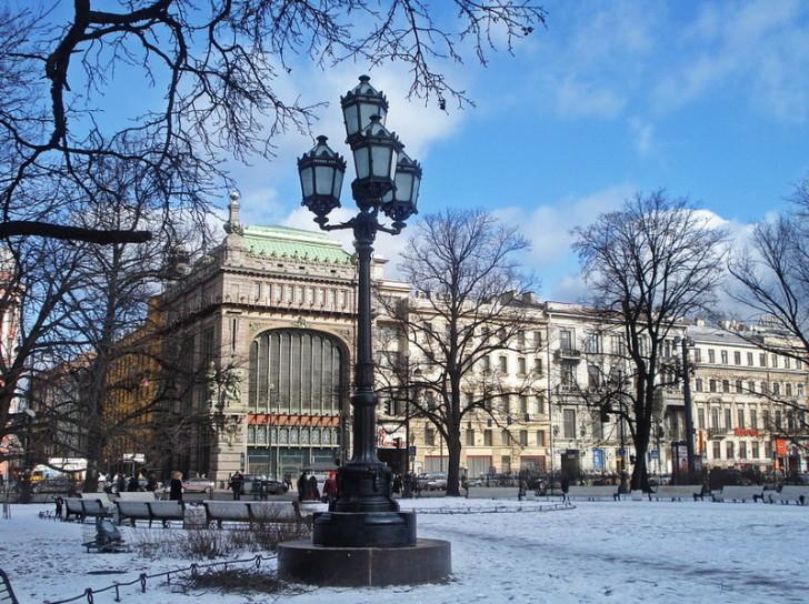 Екатерининский сад, СПб
