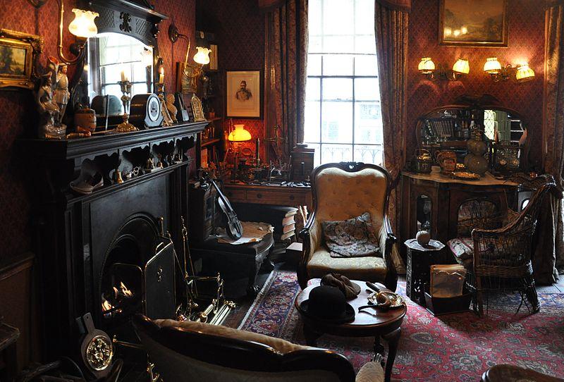 Музей Шерлока - гостиная