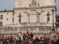 Испанская лестница и церковь Тринити-деи-Монти