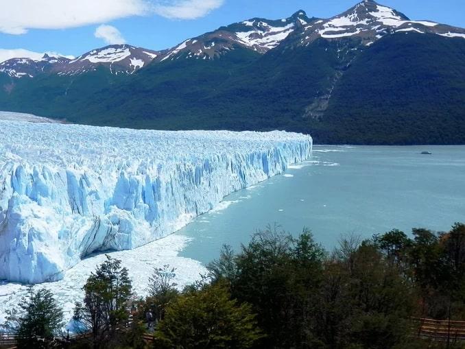 Перито-Морено в Патагонии, общий вид