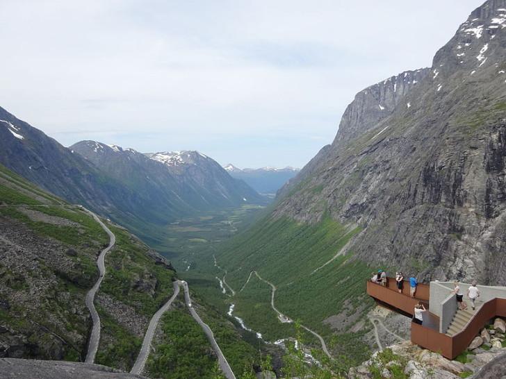 """Trollstigen, """"Лестница троллей"""""""