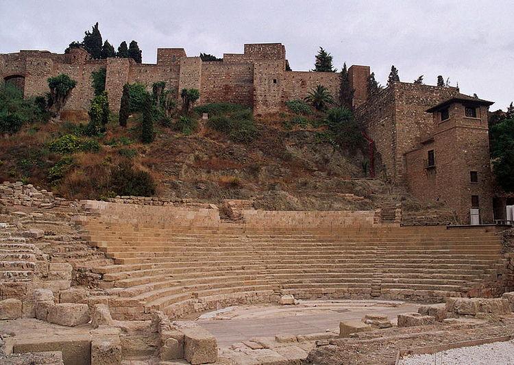 Римский форум и Хибральфаро в Малаге