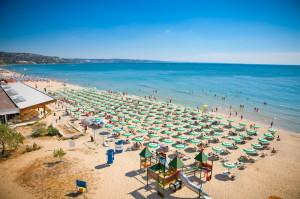 Пляжи в Золотых песках, Болгария