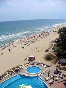 Албена пляж