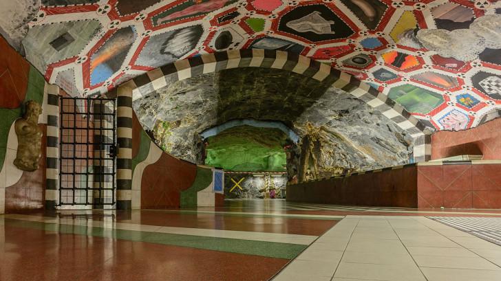 Станция метро Kungsträdgården, Стокгольм