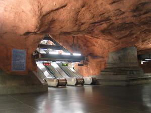 Станция метро Radhuset