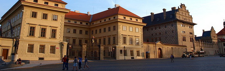 Национальная галерея в Праге: Салмовский и Шварценбергский дворец, фото VitVit