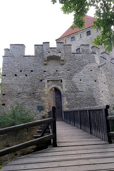 Вход в Кокоржин, фото Horakvlado / Wikimedia Commons