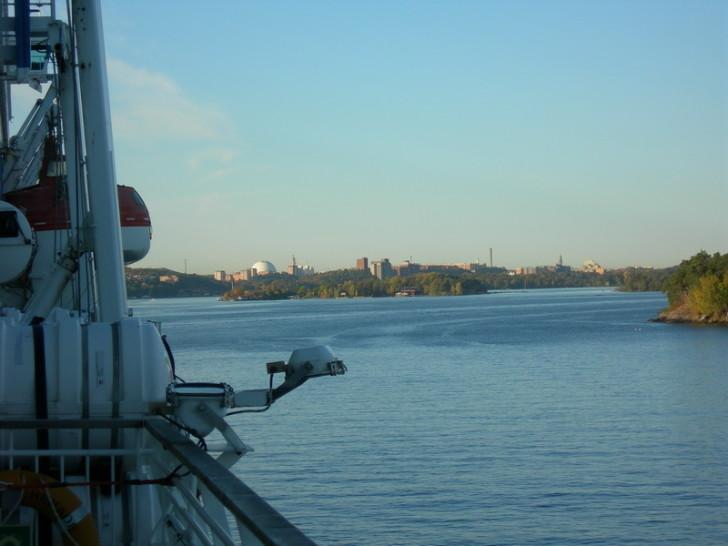 Стокгольм на горизонте