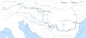 Дунай на карте Европы, Daniel Ullrich