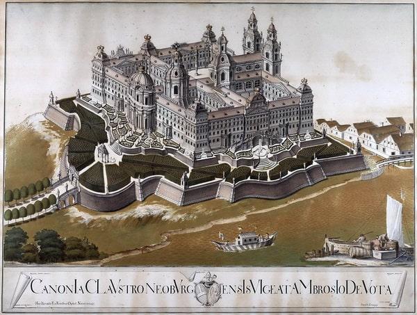 Проект монастыря Клостернойбург