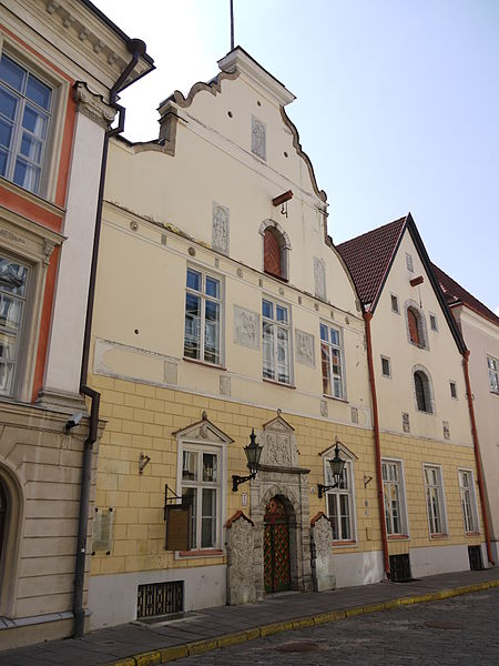 Дом Черноголовых, Таллин