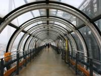 Центр Помпиду, коридор