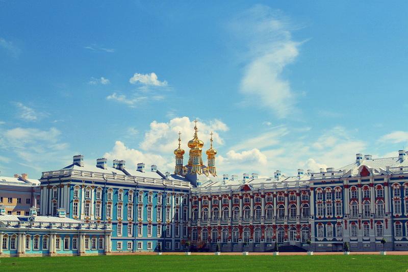 Царское Село, Екатерининский дворец
