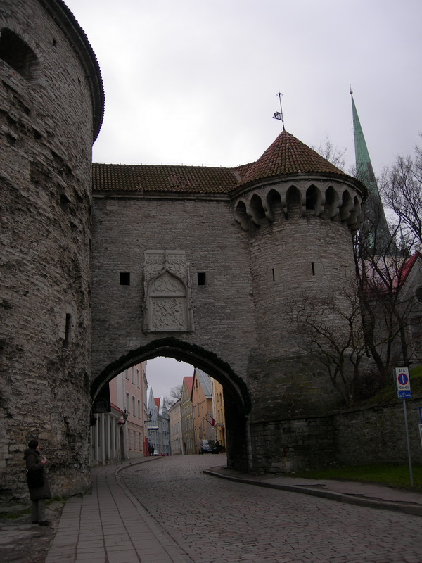 Таллин, вход в Старый город