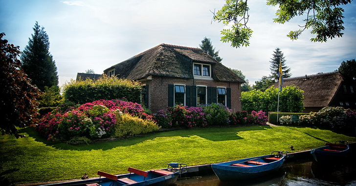 Нидерланды, деревня Гитхорн