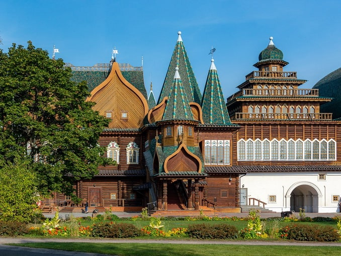 Дворец Алексея Михайловича в Коломенском, Россия