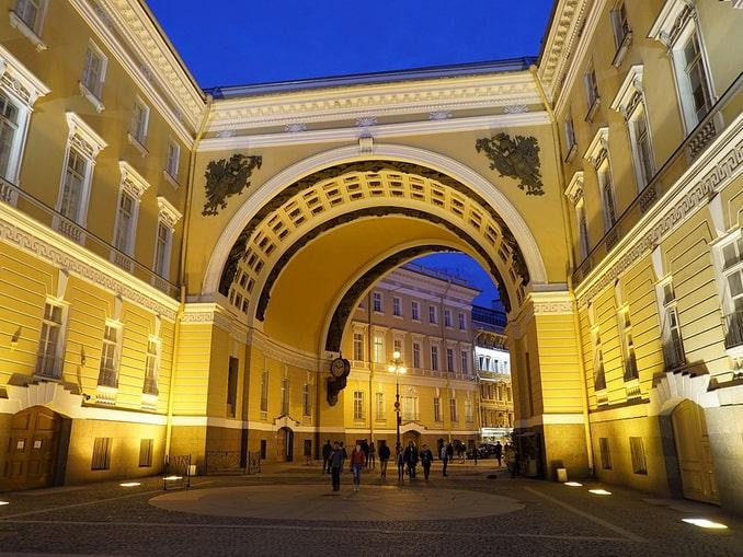 Арка Главного штаба, Санкт-Петербург
