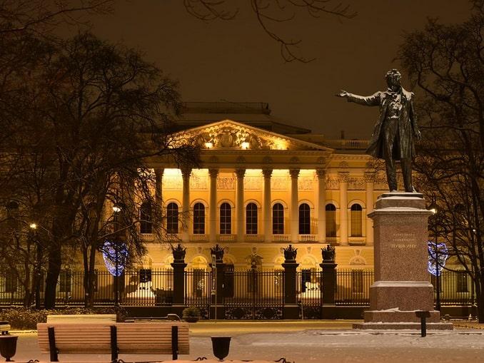 Михайловский дворец в Санкт-Петербурге превращен в Русский музей