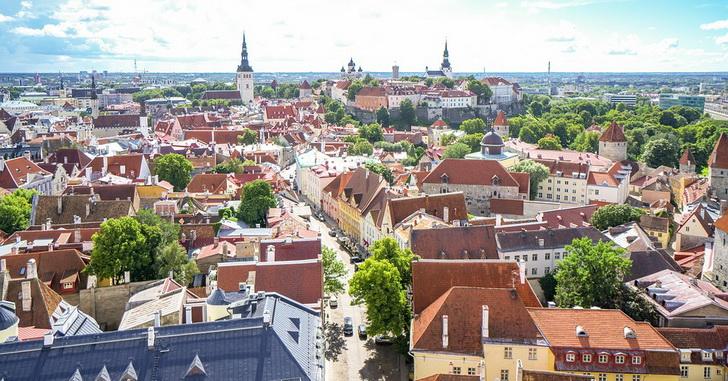 Таллин, Старый город